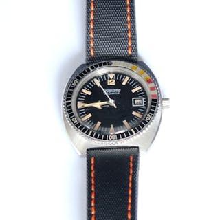 Tevomatic vintage diver, 39mm, 1970s
