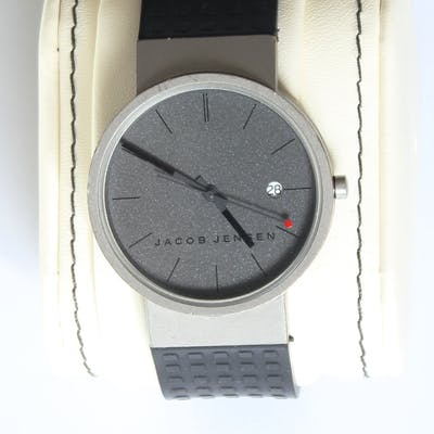 Jacob Jensen / Max René quartz watch, 36mm, 1990s
