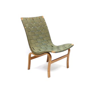 First year production Model 41, Eva chair, designed by Bruno Mathsson