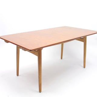 AT 310 Dining Table by Hans J. Wegner for Andreas Tuck, 1960s