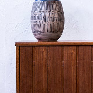"""Granada"" Floor vase by Lisa Larsson"