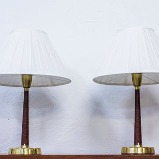 "Table Lamps ""701"" By Hans Bergström"