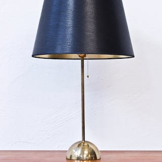 1960s Bergboms brass table lamp