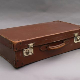 The Goth Hunter - Vintage Leather Suitcase