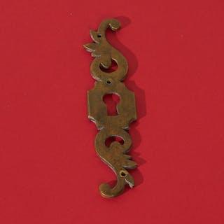 The Pimp Kelly - Antique Keyhole Escutcheon