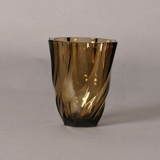 The Punk Avery - Luminarc Vintage Geometric Twisted Glass Vase