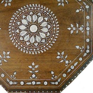 Anglo-Indian Table, Mysore, circa 1890