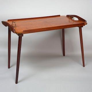 A Scandinavian Modern Standing Tray, 1960