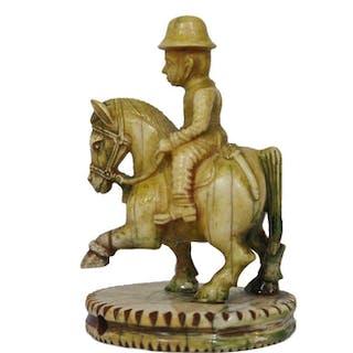 "Indian ""Polo Knight"", Rajasthan, circa 1900"