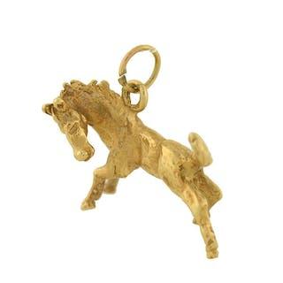 Vintage 14kt Gold Horse Charm