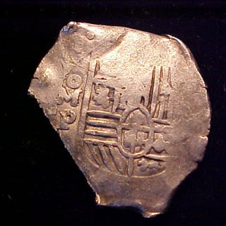 Spanish New World Silver 8 Reales COB Clipped MEXICO P W CHOP MARKS Current Sales Barnebys