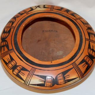 Native American, Exceptional Historic Low Shouldered Hopi Tewa Bowl
