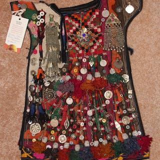 Nomad Kuchi Ethnic Ceremonial Child's Garment, #897