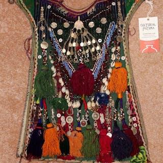 Nomad Traditional Kuchi Ethnic Ceremonial Child's Garment, #898