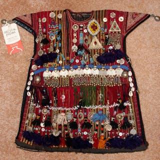 Nomadic Turkmen, Ceremonial Children's Garment for Special Occasions, #899