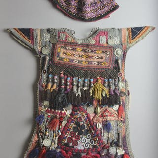 Nomadic Turkmen, Children's Garments for Special Occasions, Ca 1940's, #1214