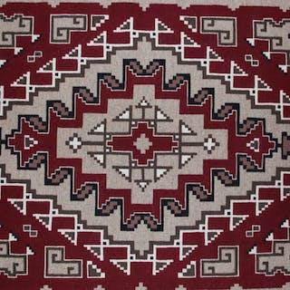 Navajo Ganado/Two Gray Hills Regional Style Weaving by Helen Allen Johnson #324