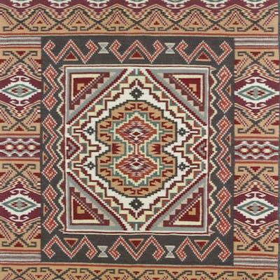 Navajo Rug, by Jennie Thomas, Burntwater Tapestry #598