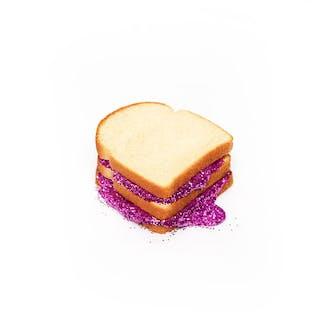 GLITTER SANDWICH WHITE