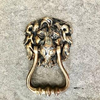 Antique Lions Head Door Knocker