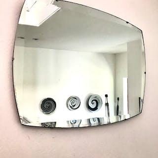 Foxed Vintage Art Deco Mirror