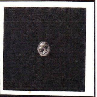 Great Britain 1912 small medal head die proof