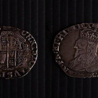 Charles I 1625-1649 Shilling (1636-1638)