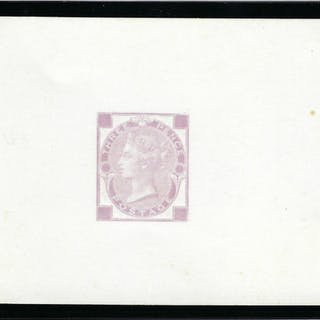 Great Britain 1870 3d die proof. SG103var