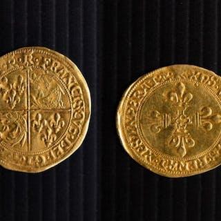 France, Francois I 1515-1547 - Eau D'or de Dauphine