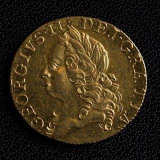 George II Old Head Guinea (1760)