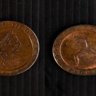 Isle of Man, George III (1760-1820) Proof 1798