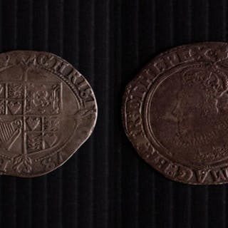Charles I Shilling 1624-1649