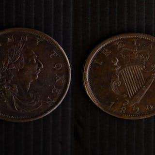 Ireland George III Dublin 1820 Penny