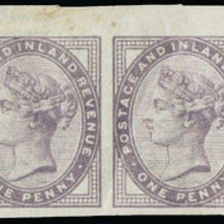 Great Britain 1881 1d mauve (Die 2). SG174a