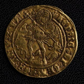 Henry VII gold angel (1485-1509)