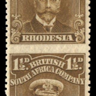 Rhodesia 1913-22 1½d drab-brown, SG199b
