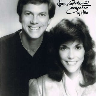 Karen & Richard Carpenter Autographed Photograph