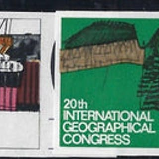 Great Britain 1964 20th International Geographical Conference (Ordinary).