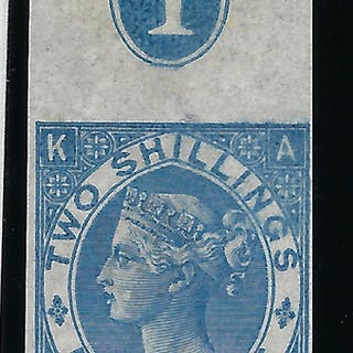 Great Britain 1867 2s Dull Blue, SG118