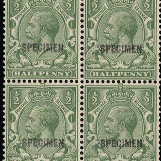 Great Britain 1924 King George V (Specimen), SG418var