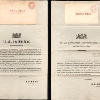 Great Britain 1841 Postal Notice, SGPN3
