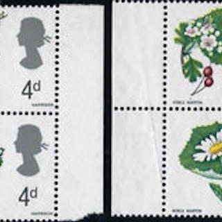 Great Britain 1967 4d British wild flowers. SG720c