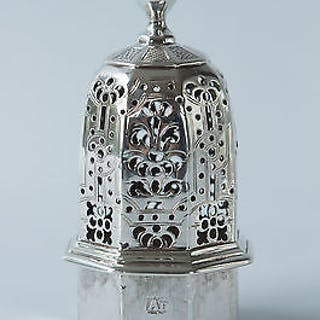 A George I Silver Britannia Standard Caster, by Charles Adam, London 1718
