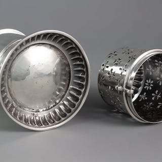 A 17th Century Silver Lighthouse Sugar Caster, London by SH