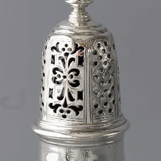 A Rare & Superb Irish Silver Caster, Dublin 1715