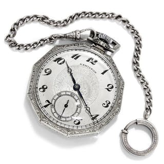 Hamilton 14K Gold Filled Open Face Pocketwatch
