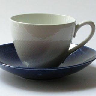 Kaffekopp Blå Eld Hertha Bengtsson Rörstrand
