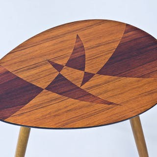 Swedish 1950s inlay table