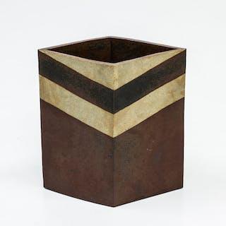 Unique vase by Margareta Hennix for Gustavsberg