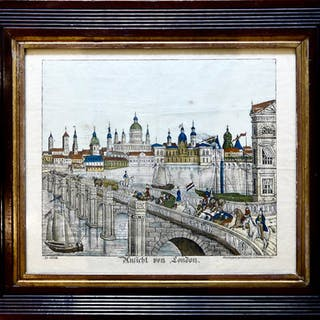 View of Old London, Neuruppin, circa 1840